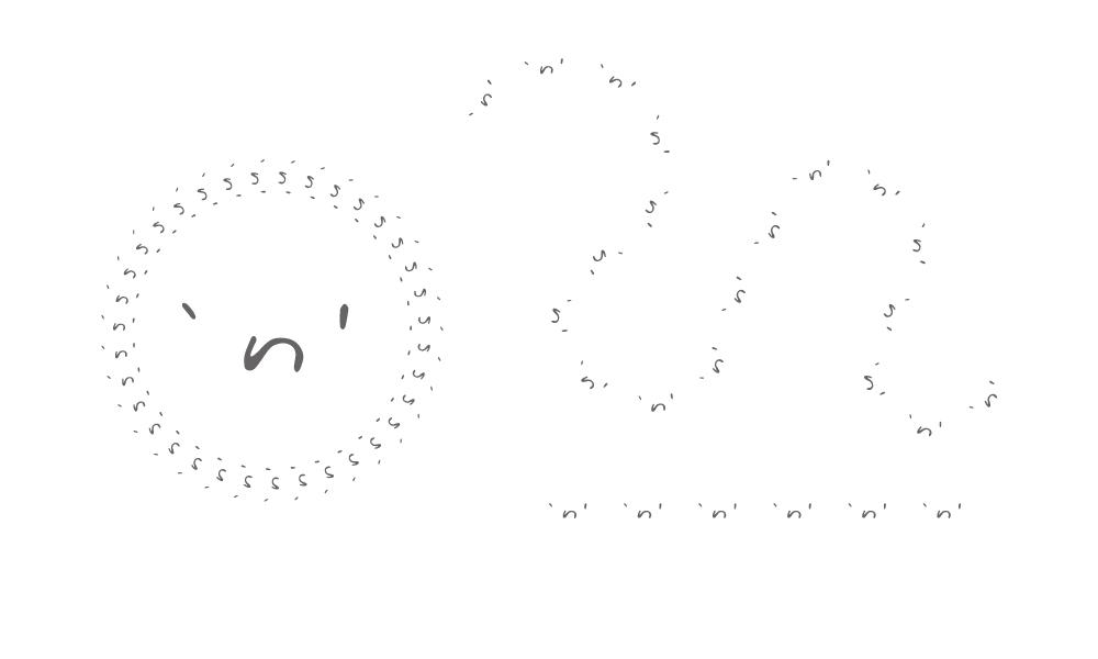 エヌロゴパターンブラシ