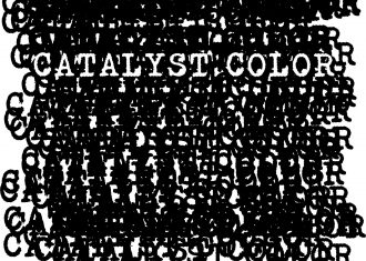 """DIGNITY POPUP """"CATALYST COLOR"""""""