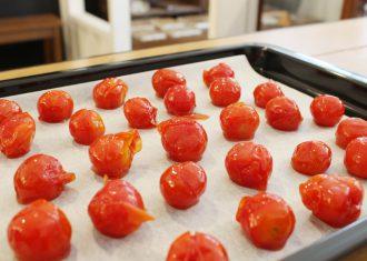 夏のおやつは、塩分と水分を上手に補う、塩トマト甘納豆がおすすめ